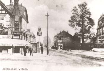 Mottingham Village, 1900