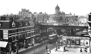 Brixton Road, Brixton, c. 1912