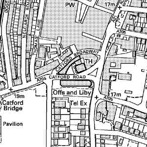 map-catford-300