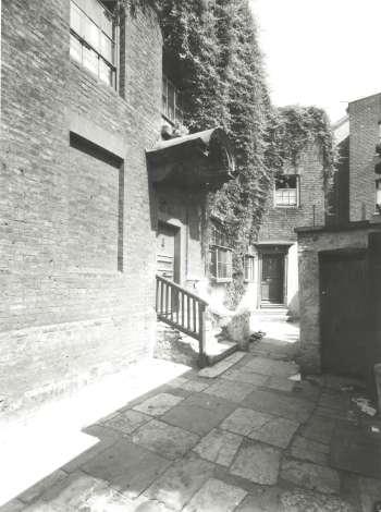 Bridge House, George Row, 1935