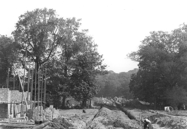 Martens Avenue, Barnehurst, 1934 - click for smaller image