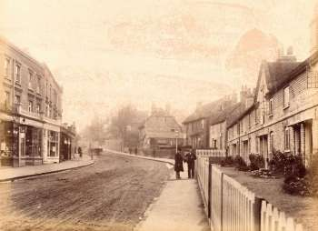 High Street, Bexley Village, c. 1900