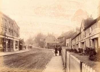High Street, Bexley Village, c. 1900