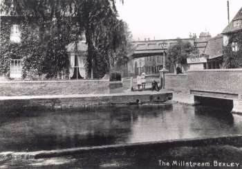 The Mill Stream, Bexley Village, c. 1910