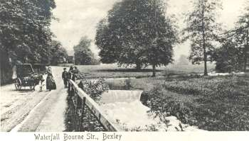 Waterfall, Bourne Road, Old Bexley, c. 1905