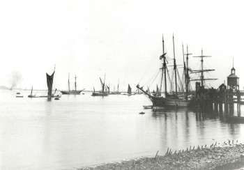 The River Thames at Erith, c. 1910