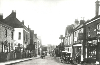 Foots Cray High Street, Foots Cray, c. 1925