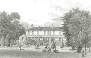 Loring Hall, North Cray, 1828