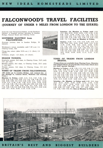 Falconwood Park Estate, Welling, 1931