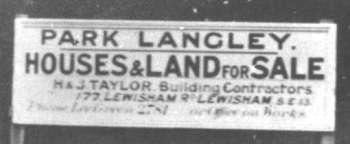 Brabourne Rise, Park Langley, Beckenham, c. 1926