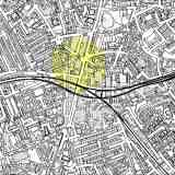 Location of Morleys in Brixton - click to enlarge