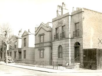 Falmouth Road, Borough, Southwark, 1956