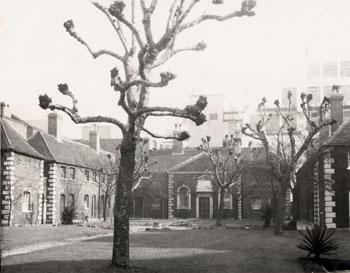 Hopton's Almshouses, Hopton Street, 1957