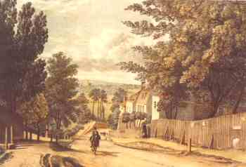 Lewisham Hill, Blackheath, 1823