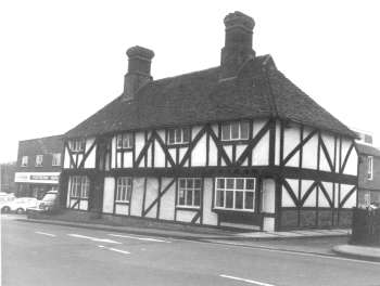 Tudor Cottages, Foots Cray High Street, 1978