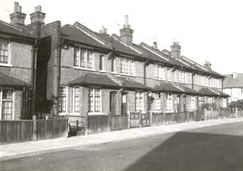 Housing Scheme No. 22, Willow Road, Slade Green, c. 1955