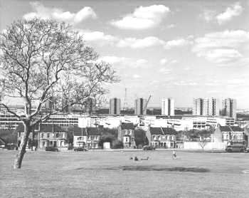 Thamesmead Views, 1972