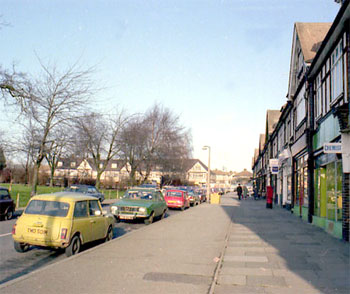 The Green, Falconwood, Welling, 1987