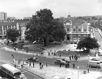 Tate Library, Brixton Oval, Brixton, c. 1960