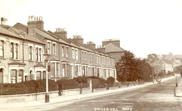 Underhill Road East Dulwich C 1905 London Borough Of