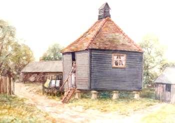 Old Granary, Bellingham Farm, Bellingham, c. 1925