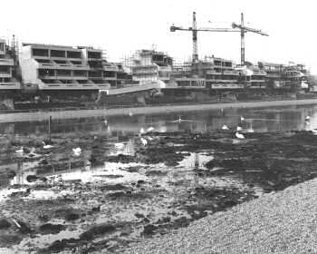 Thamesmead Under Construction, 1970