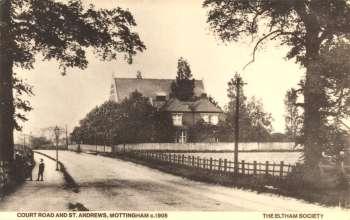 St Andrew's Church, Court Road, Mottingham, c. 1905