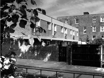 Rear View: 98 - 106 Brixton Road, Brixton North, 1970