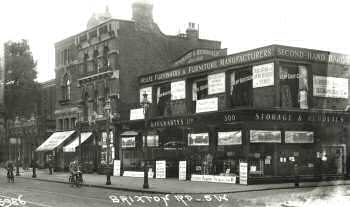 Dougharty's Storage and Removals, Brixton, c. 1920