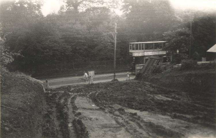 Park Grove and Watling Street, Barnehurst, Bexley, 1934 - click for smaller image