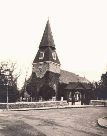 St Mary's Church, Bexley Village, 1912