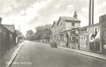 Foots Cray High Street, Foots Cray, c. 1930