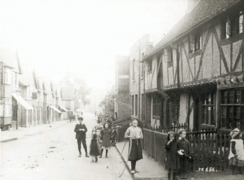 Foots Cray High Street, Foots Cray, c. 1910