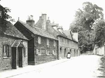 Jubilee Cottages, North Cray Road, North Cray, c. 1900