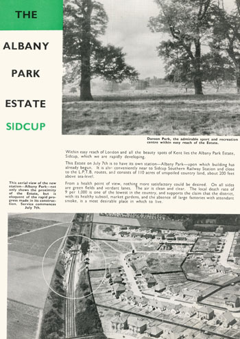 Albany Park Estate, Sidcup, c. 1930