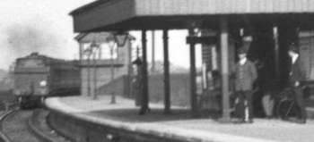 Welling Railway Station, 1923