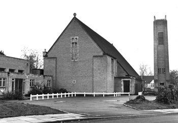 St Mark's Church, Main Road, Biggin Hill, Bromley, 1979