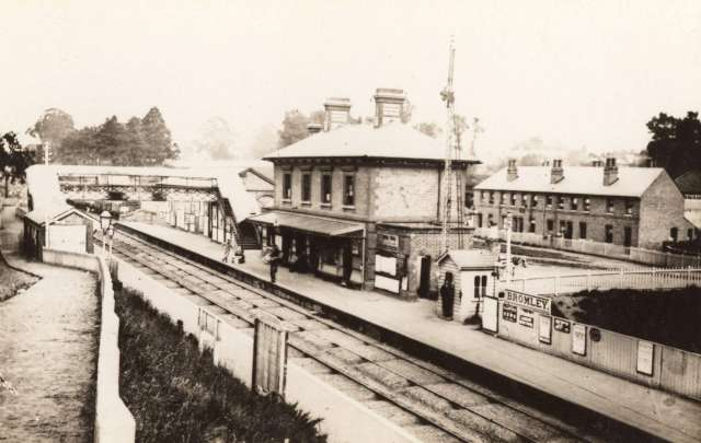 Bromley south station bromley c 1870 ideal homes for The bromley