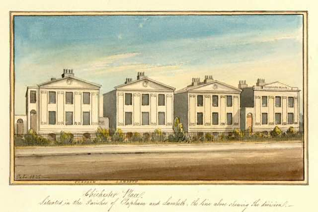villas chichester place clapham 1825 ideal homes