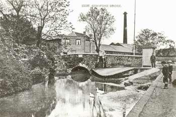 Crayford bridge 1906