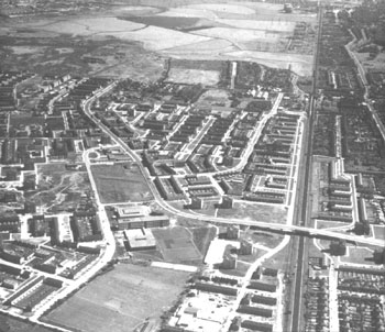 Aerial View of Abbey Wood and Plumstead Marshes, c.1960