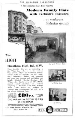 'The High', Streatham, 1937