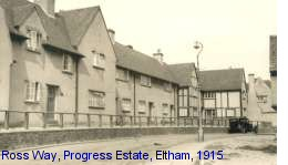 Ross Way, Progress Estate, Eltham, 1915