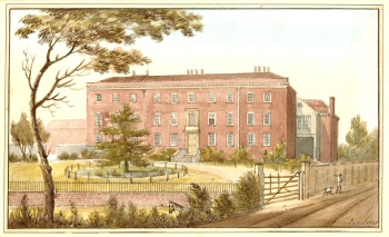 Loughborough House, Brixton, 1825