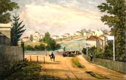 Half Moon Lane, Herne Hill, 1823