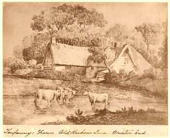 Tenpennys Farm, Coldharbour Lane, Brixton, c. 1800