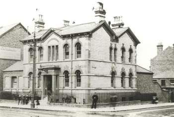 Police Station, Penge, c. 1905