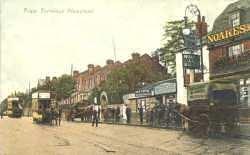 Tram Terminus, High Street, Plumstead, c. 1910