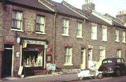 Besley Stores, Besley Street, Streatham, c.1961