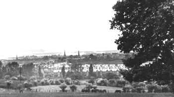A View of Streatham from Leigham Court Road, Streatham, c. 1911